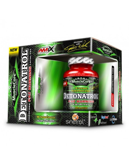 Detonatrol Fat Burning - 90 Termo Cápsulas
