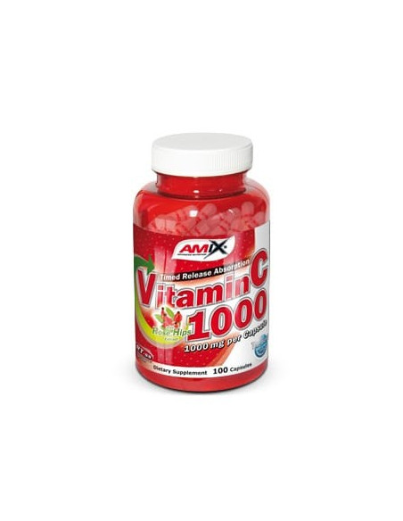 Vitamin C 1000mg 100caps - Amix Nutrition