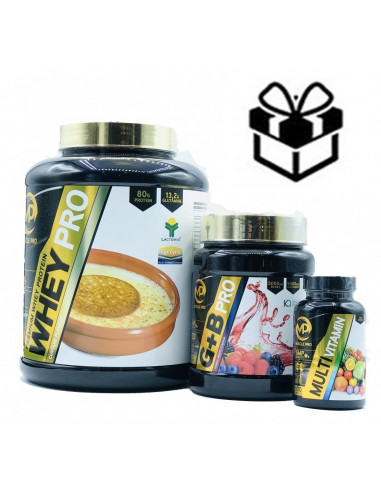 Pack Aumento Muscular BCAA - Muscle Pro