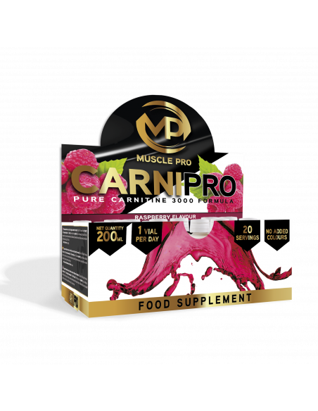 CarniPro 3000 20 viales - Muscle Pro